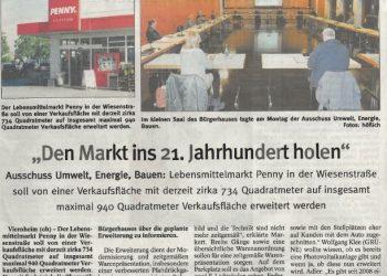 Erweiterung Penny Markt